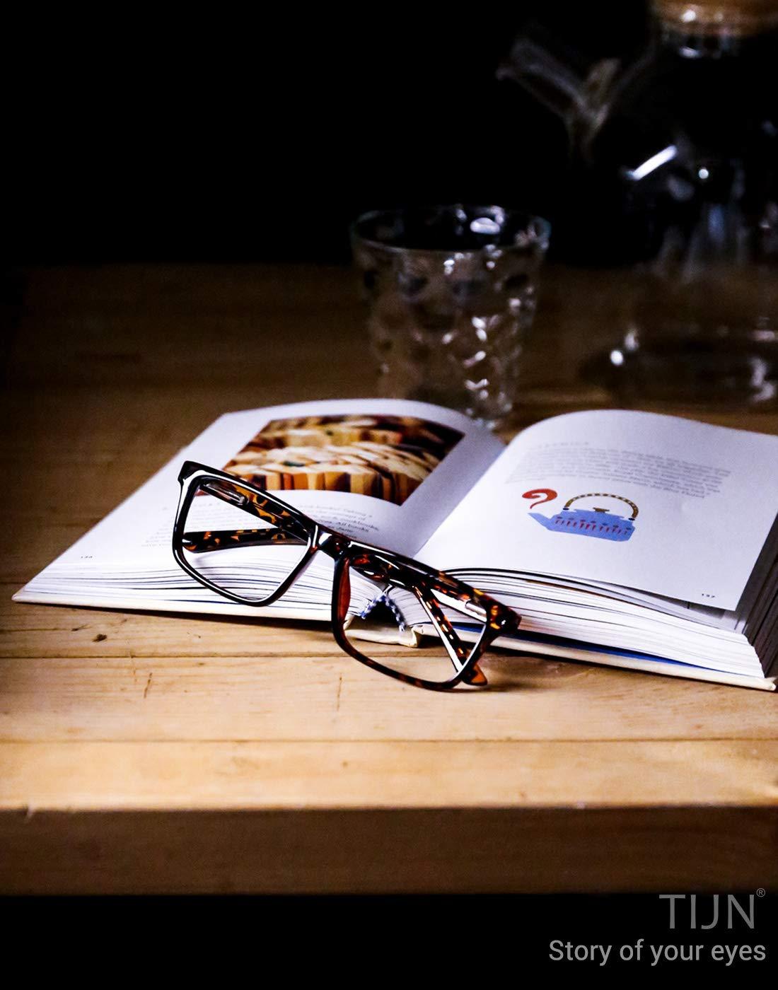 TIJN Lesebrille Blaulichtfilter Gaming Brille Brille Ohne Sehst/ärke hHerren Computerspiele f/ür pc Lesebrillen Herren Damen 1,5 2,0 2,5