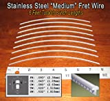 Guitar Fret Wire - Jescar Stainless Steel Medium