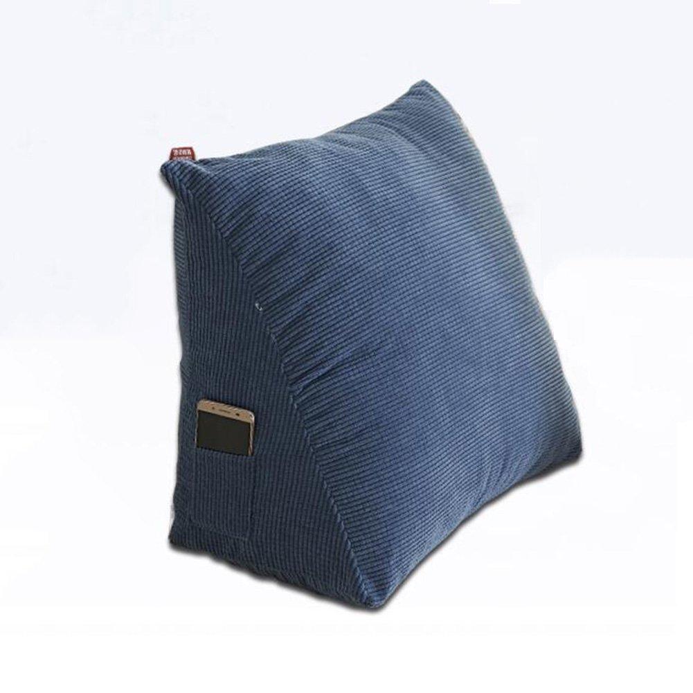 Almohada CJC Cojines Respaldo Cuña Lumbar Trasera Lumbar Cuña Cuello Leg Soporte Inicio Sofá Cama Uso (Color : T7, Tamaño : Medium Yard 1.5kg) 34c441