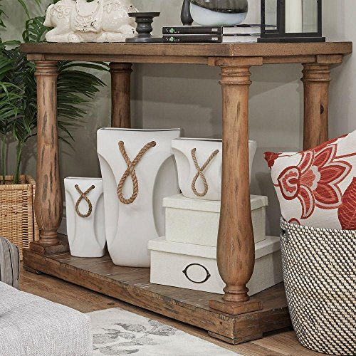Malvern Hill Baluster Distressed Pine Console Table