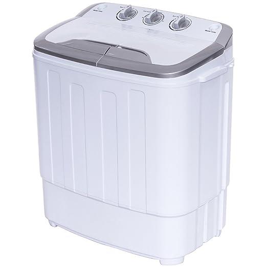 COSTAWY Mini Lavadora con (Capacidad de Lavado de 3, 6 kg ...