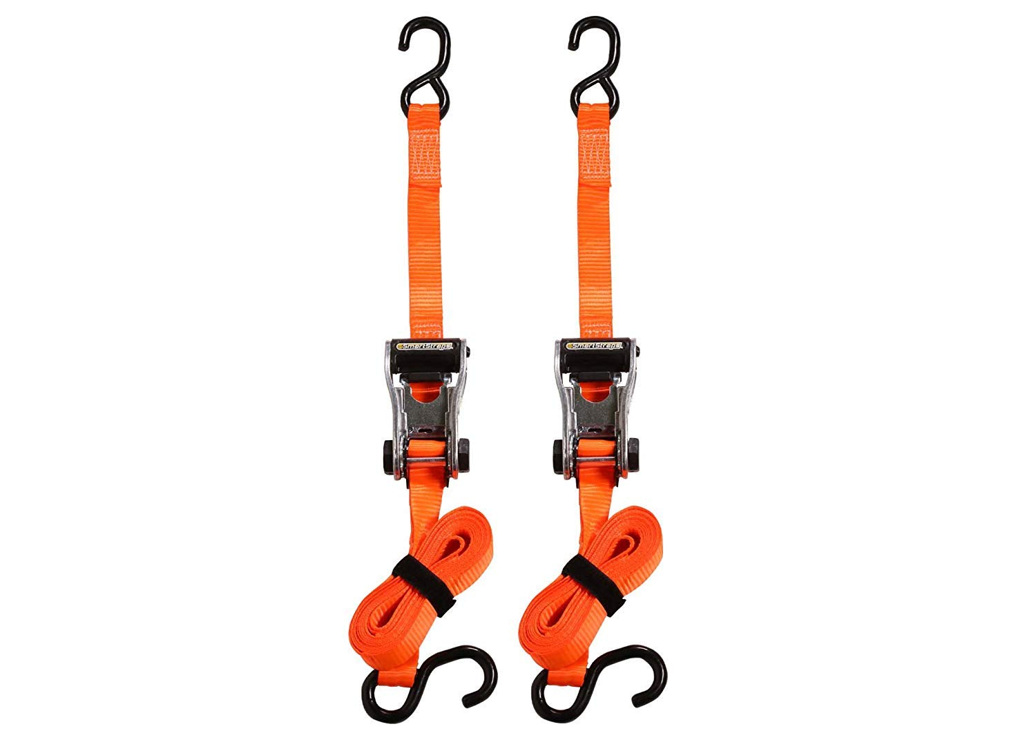 SmartStraps 340 RatchetX Orange 10 3,000 lbs Capacity Tie Down, Pack of 2