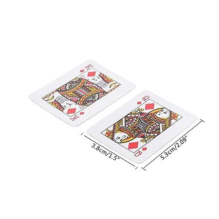 Mini juego de cartas de Texas Holdem juego de mesa de póquer ...
