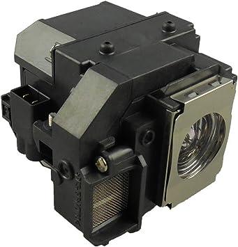 Supermait EP54 Lámpara de Repuesto para proyector con Carcasa ...
