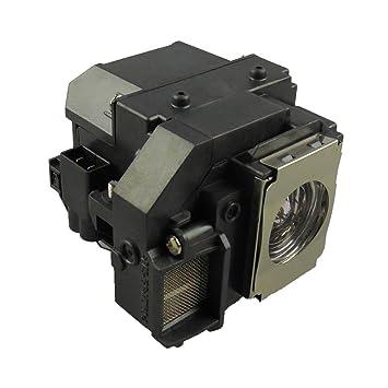 Supermait EP54 Lámpara de Repuesto para proyector con Carcasa, Compatible con Elplp54, Adecuada para EX31 / EX71 / EX51 / EB-S72 / EB-X72 / EB-S7 / ...