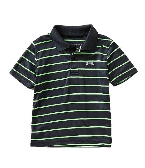 058d8d4de Under Armour Boys' UA Logo Short Sleeve Polo (12 Months, Black (27D74083