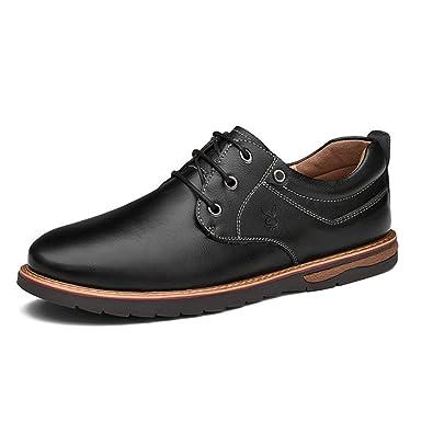 OEMPD Herren Business Casual Schuhe Joker Schuhe Jugend Trend Lederschuhe