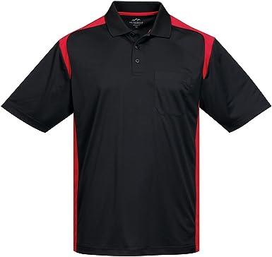 Mens Antimicrobial Short Sleeve Blitz Pocket Sports Polo Shirt (8 Colors,S-4XLT)