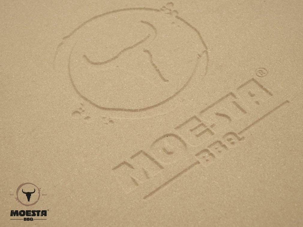 Moesta BBQ pizza stone no. 1round, diameter: 36.5cm or 41 cm, 36,5 cm Moesta-BBQ
