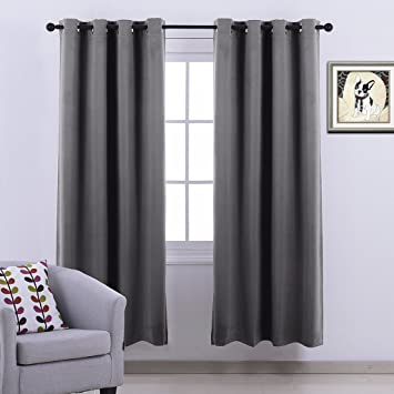 Ponydance Thermal Insulated Top Eyelet Blackout Curtains Curtains ...