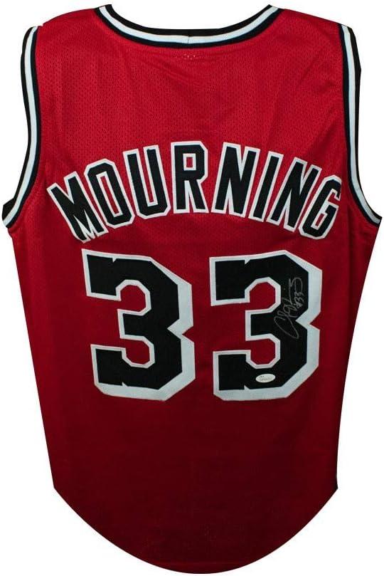alonzo mourning jersey