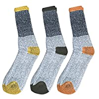 Mens Heated Sox Thermal Socks (3 Pair)