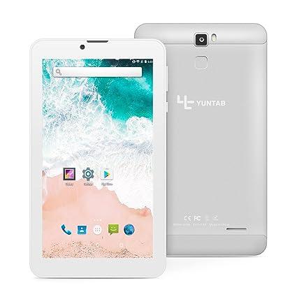 Tablet 7 Pulgadas Android 7.0 YUNTAB 3G Smartphone,CPU Quad-Core ...