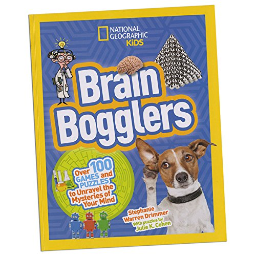 National Geographic Kids Brain Bogglers   Educational Books Toys  2017 Christmas Toys