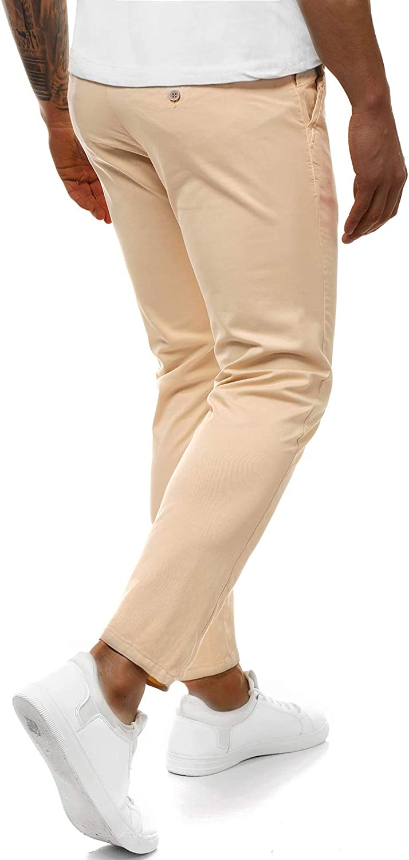 Chino Pants Pantaloni Tuta Pantaloni Business regular MATRIMONIO CASUAL UOMO OZONEE 2935 7m7