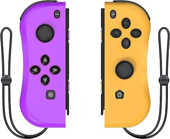 Mando para Nintendo Switch, ANTCOOL Gamepad Bluetooth Joystick Controlador Construido en Giroscopio y Motor de Vibración: Amazon.es: Videojuegos
