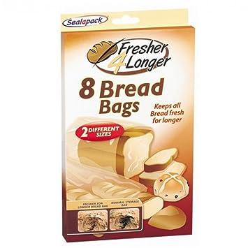 8 Stück Brot Tüten Hält Länger Frisch Amazonde Küche Haushalt