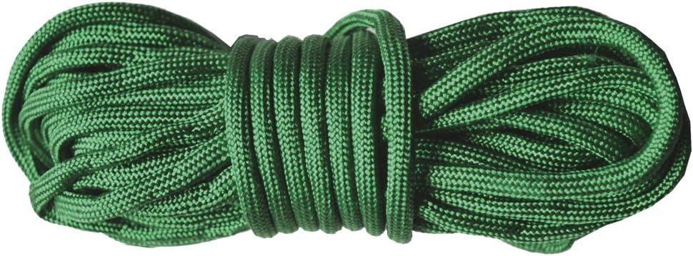 5 metros de cuerda paracord 3 mm (Verde) : Amazon.es ...