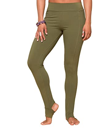 8741f3835f2f5e Amazon.com: Soul Flower Women's Stirrup Yoga Pants in Organic Cotton ...