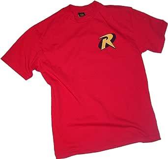 DC Comics Robin Logo - Batman & Robin Adult T-Shirt
