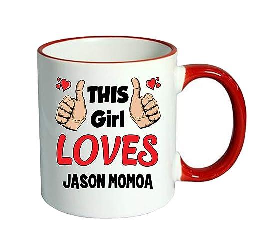This Girl Loves Jason Momoa - Personalised Custom Coffe Cup Mug ...