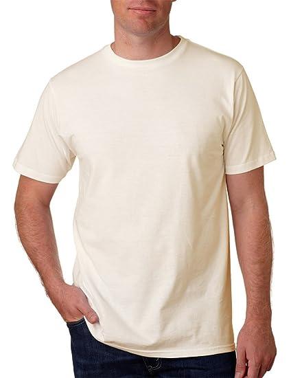 Anvil Yunque algodón orgánico de la Hombres camiseta - Marrón -
