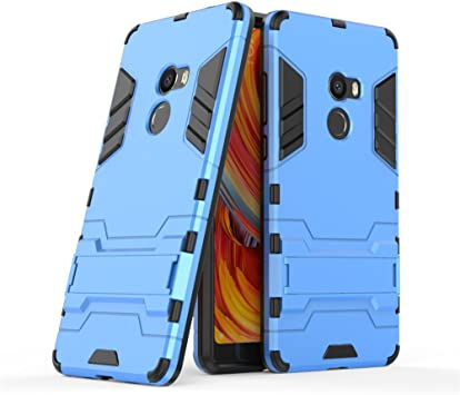GOGME Funda para Xiaomi Mi Mix 2, Soporte Plegable Case, Azul ...