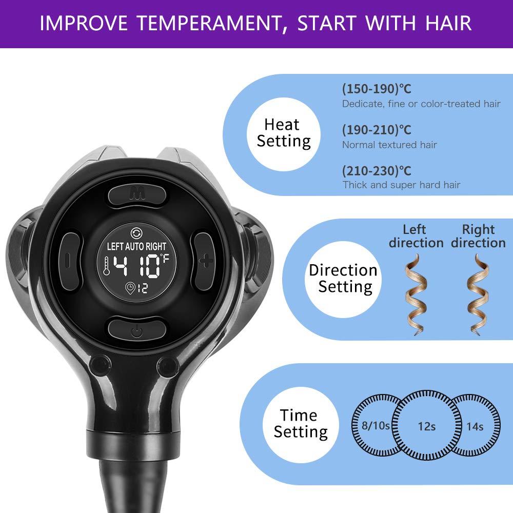 Amazon.com: Rizador de pelo, MKBOO Rizador de pelo ...