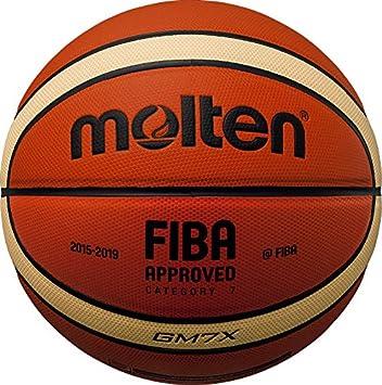 MOLTEN BGMX Parallel Pebble-Balón de Baloncesto (7 cm), Color marrón, Unisex Adulto