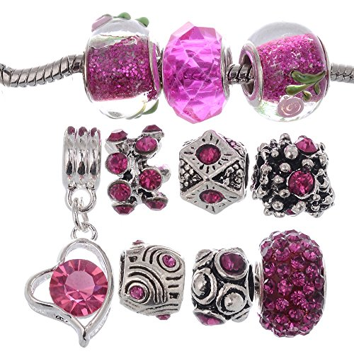 Beaded Dangling Charms - 3