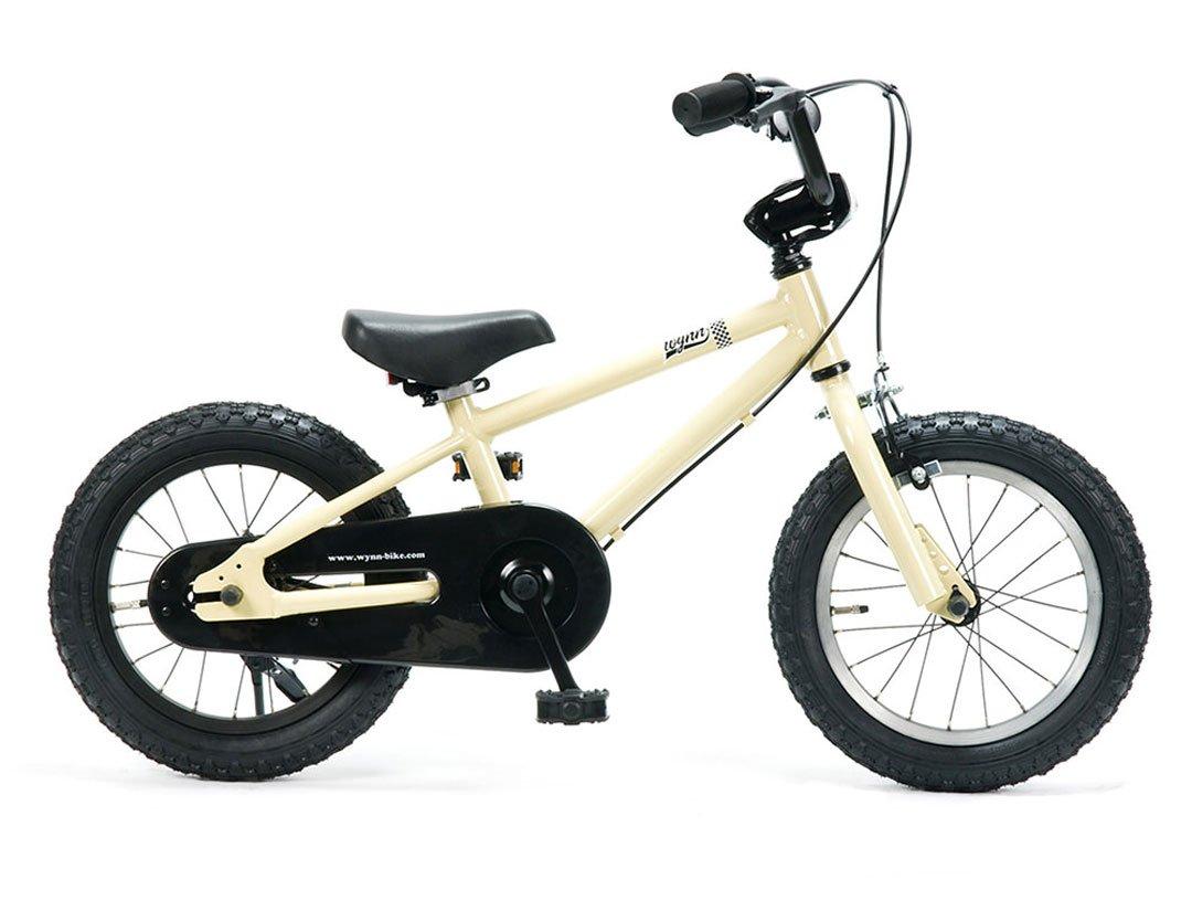 Wynn 14インチ BMXスタイル@25920 14inch STRIDERの次に(キックスタンドは付属しません) 【3歳~6歳向け】【キッズ ジュニア用】【 自転車 サイクル 】 B07C1NT29C BEIGE BEIGE