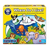 Orchard Toys Where Do I Live Lotto Game (Multi-Colour) by Orchard Toys