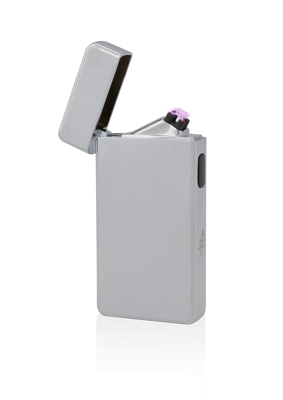 TESLA Lighter T13 | Encendedor de arco, doble arco de plasma, recargable electrónicamente, recargable con alimentación a través de USB, sin gas y ...