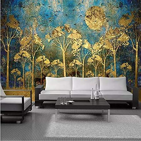 Yfxgstli Papier Peint Panoramique Peinture Murale Style