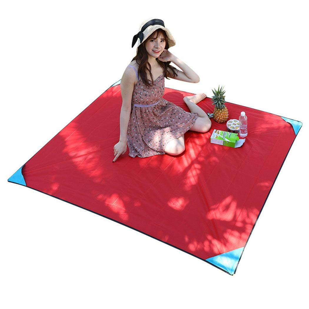 Kindes 43.3 x 27.6inch Durable Portable Folding Waterproof Solid Outdoor Camping Picnic Mat Cots