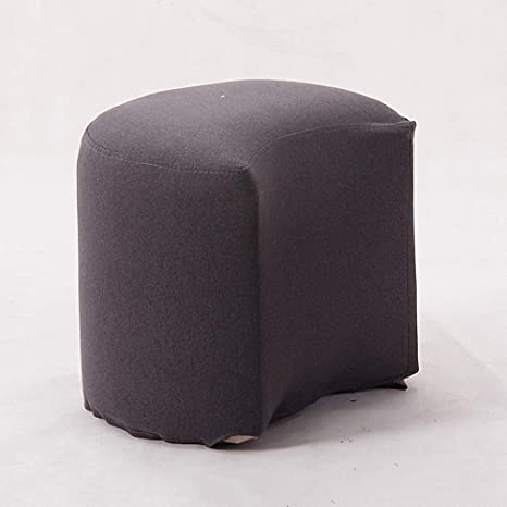 Surprising Amazon Com Lifex Nordic Half Moon Shape Pudding Stool Solid Pabps2019 Chair Design Images Pabps2019Com