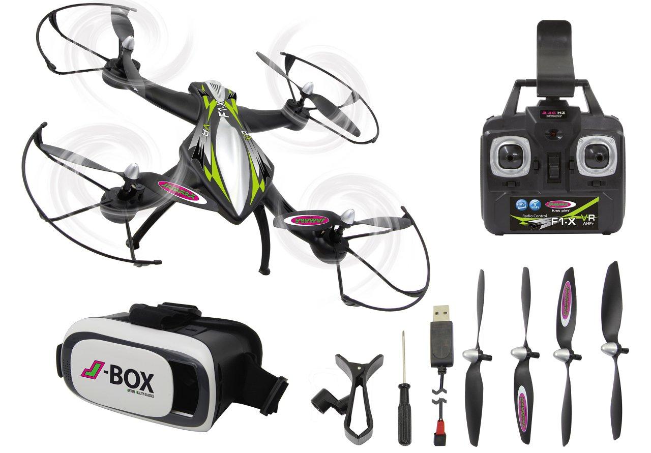 ¡No dudes! ¡Compra ahora! Jamara- Jamara- Jamara- Cuadricópter F1X VR Drone Altitude FPV (422021)  venta directa de fábrica