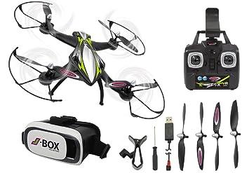 Jamara- Cuadricópter F1X VR Drone Altitude FPV (422021): Amazon.es ...
