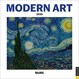 Modern Art 2019 Mini Wall Calendar The Museum Of Modern Art