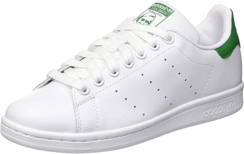 adidas Originals Stan Smith, Baskets Mode Mixte Adulte Blanc Footwear White Footwear White Green