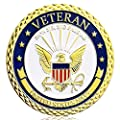 Navy Veteran Challenge Coin United States Department of the Defense Army Military Coin from Amazinga