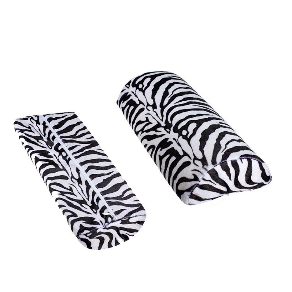 Zèbre Stripe Main Rest Doux Coussin Oreiller Nail Art Design Manucure Demi Colonne Newin Star