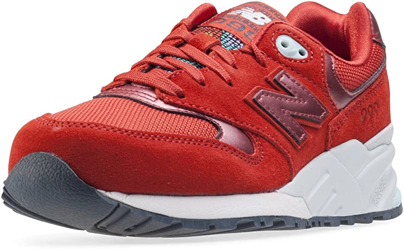 basket new balance rouge fille