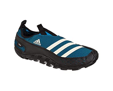 9945aba05f3b adidas Jawpaw 2 Water Shoe - Sharp Blue Black Spray - Mens - 9