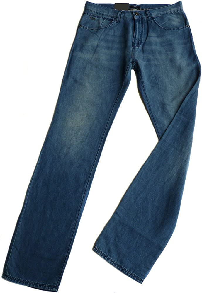 HUGO BOSS Pantalones Vaqueros verano W33/L34 Pantalón iowa1 ...