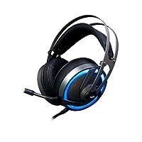 Headset Gamer C3 Tech Goshawk PH-G300SI Preto - Conectores P2, Iluminacão RGB, Controle de Volume no Cabo e Microfone Fixo