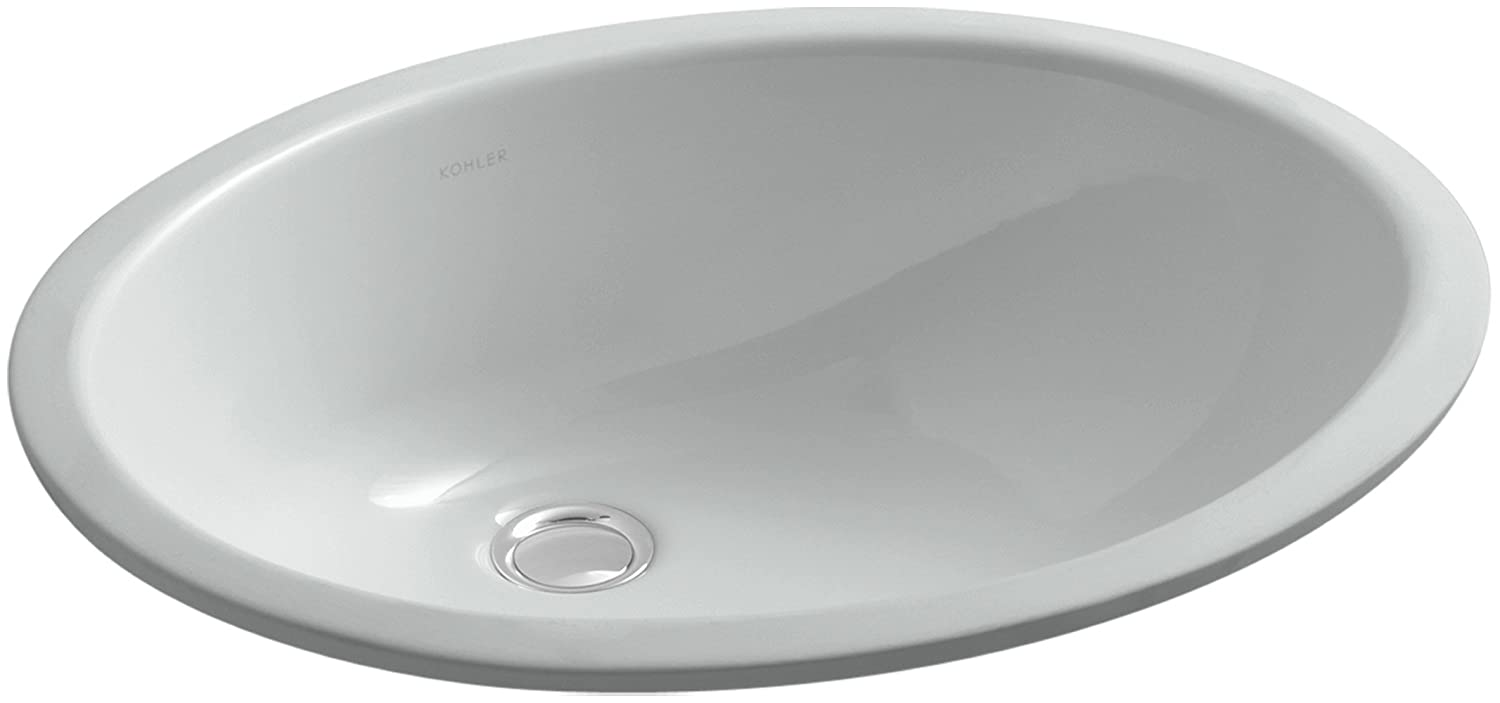 Charmant KOHLER K 2210 95 Caxton Undercounter Bathroom Sink, Ice Grey   Vessel Sinks    Amazon.com