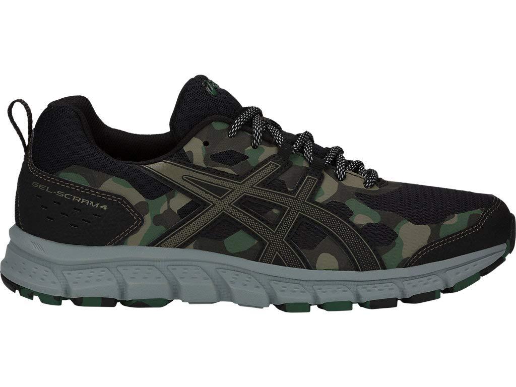 ASICS Men's Gel-Scram 4 Running Shoes, 6.5M, Black/Irvine