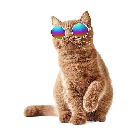 FOONEE Gafas de Sol para Gatos y Mascotas, Gafas de Sol para Perros pequeños,