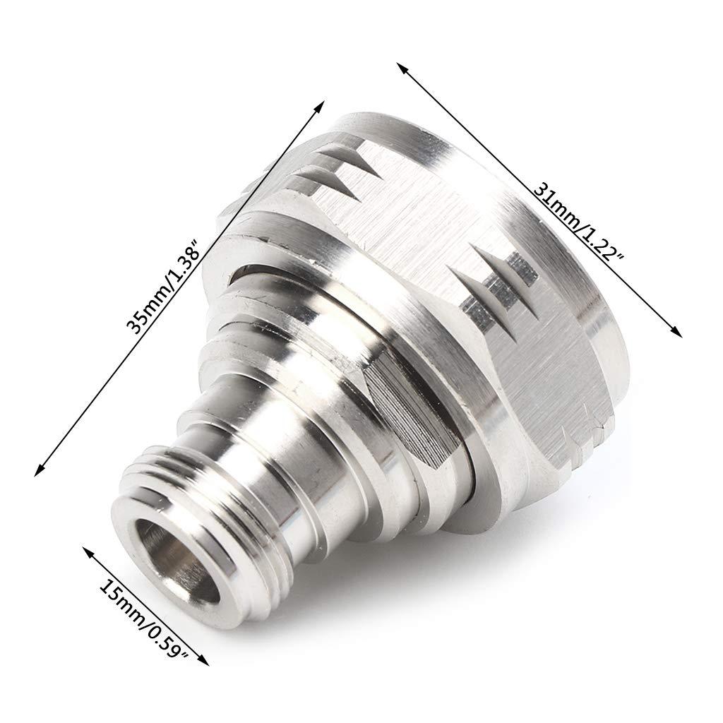 L29J RF L29 7//16 Macho a Conector Hembra N YoungerY Adaptador coaxial de microondas NK